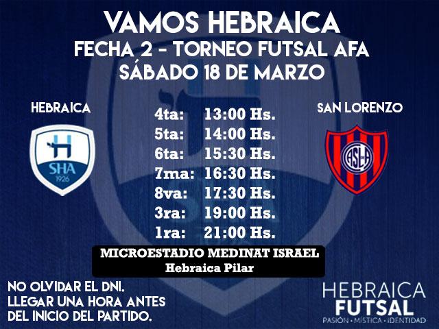 Fecha-2-Horarios